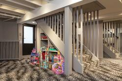 Kid space in the remodeled basement
