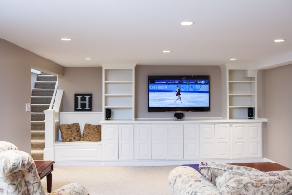 Basement Remodeling In Chicago's North Shore BDS Design Build Remodel Simple Basement Remodeler Set Interior