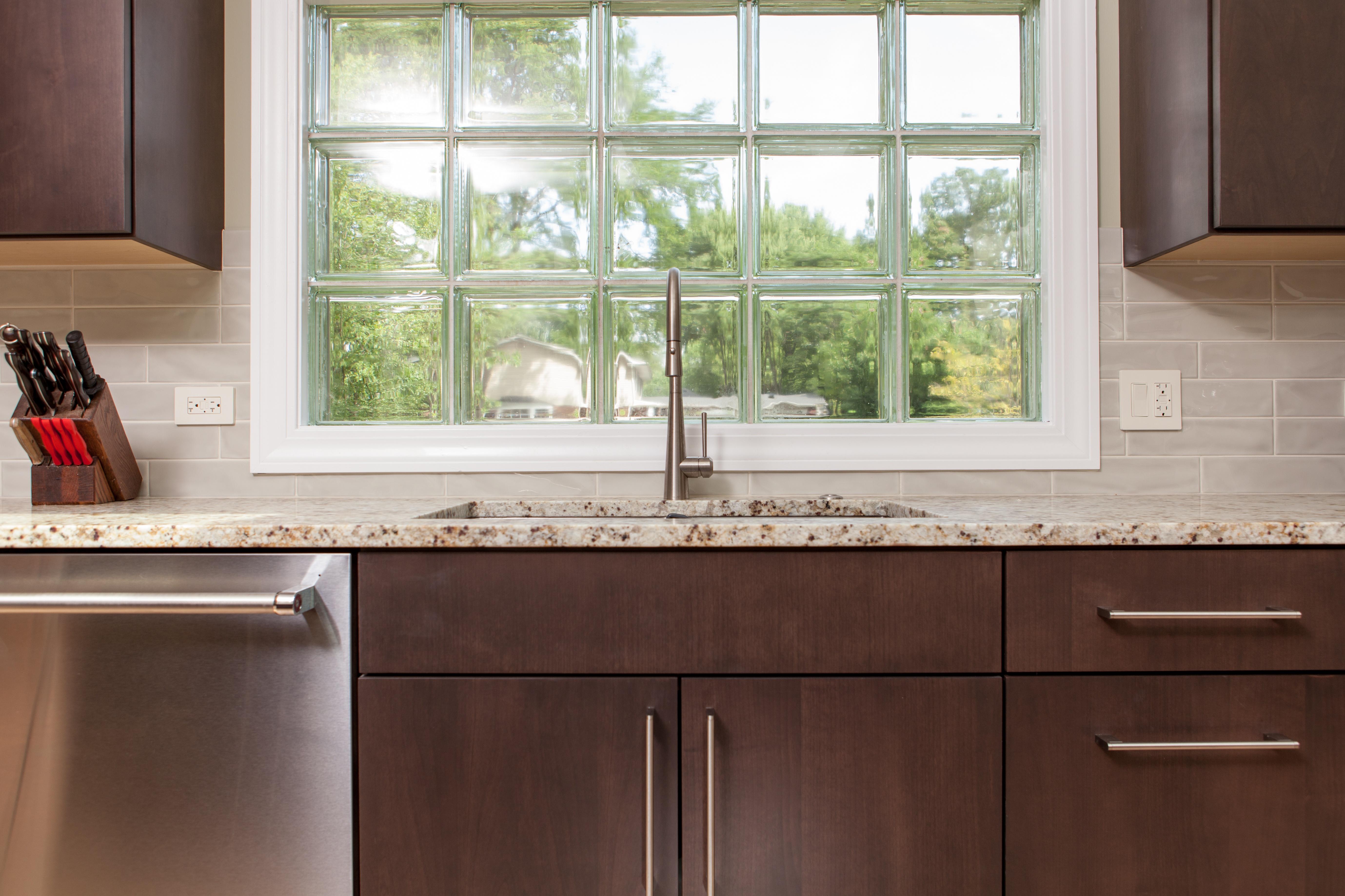 White trim makes this beautiful new window pop