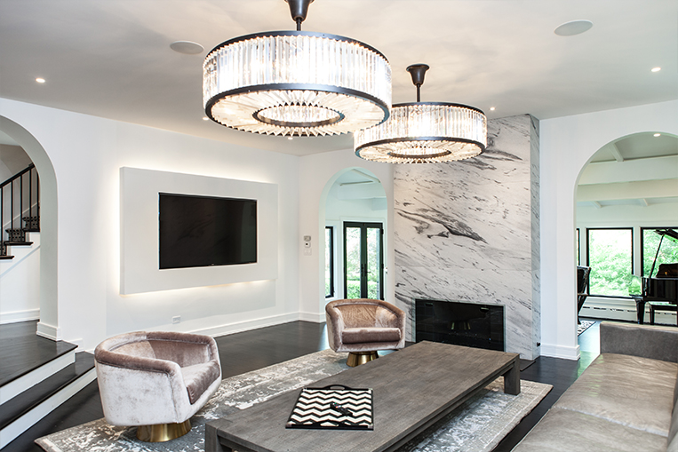 intro to lighting styles chandelier, sconce, under-mount, and recessed lighting